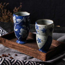 Coffe Milk Tea Cups Japanese Cup Bardak Caf Coffee Creative Mrs Mug Vintage Novelty Printed Luxury Chinese Mok 7B077(China)