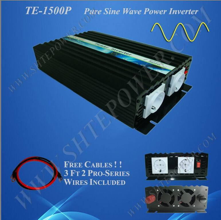 High efficiency  dC TO AC 1500W pure sine wave solar power inverter for 230v countryHigh efficiency  dC TO AC 1500W pure sine wave solar power inverter for 230v country