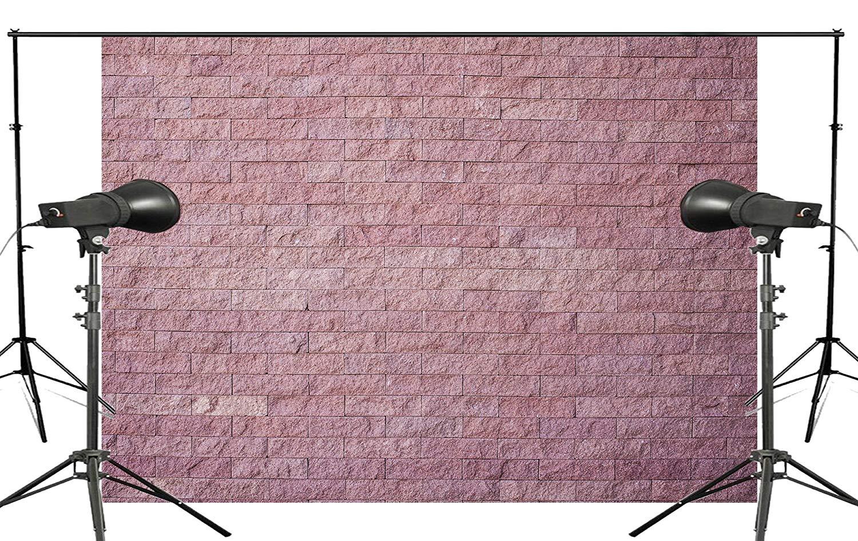 7x5ft Beautiful Simple Style Pink Brick Photography Background Kids Wedding Photo studio Backdrop photography Wall