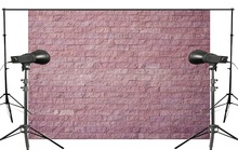7x5ft Beautiful Simple Style Pink Brick Photography Background Kids Wedding Photo studio Backdrop photography Wall