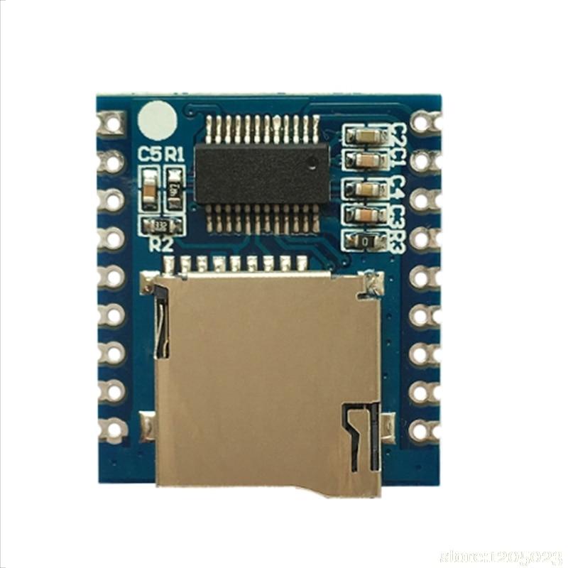 XY-V17B Serial Control Voice Module MCU IO Control SD/TF Card MP3 Sound ModuleXY-V17B Serial Control Voice Module MCU IO Control SD/TF Card MP3 Sound Module