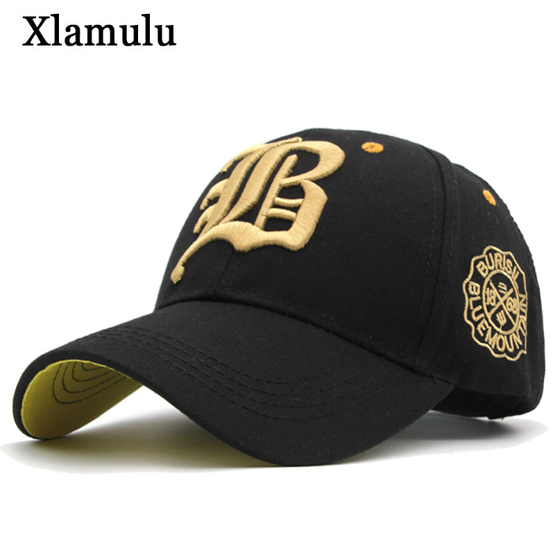 Xlamulu New Snapback Baseball Caps Hats For Men Casquette Women Bone Casual Hat Gorras Letter B Trucker Fitted Dad Hat Caps