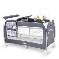 Складной детской кроватки многофункциональный детская кровать портативный Детские шейкер есть музыка молодых детская кроватка Два слоя и