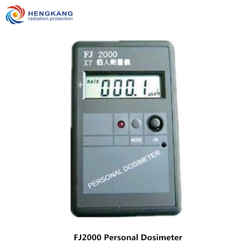 Free shipping FJ2000 handheld professional nuclear radiation detector high range electronic font b geiger b font