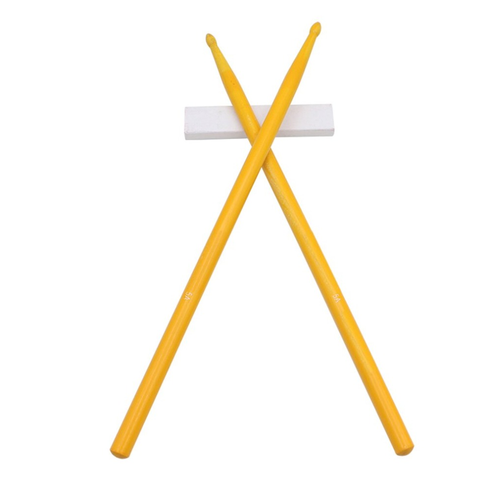 2 pcs Drum Sticks anti-skid hard professional wooden Drum Sticks musical instrument Music Band accessories Hot SALE
