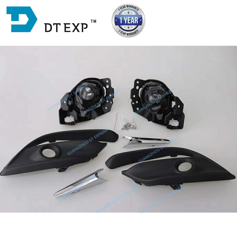 Full set fog lamp for mazda 3 AXELA OEM: BS1E-51-680 with fog lamp support h11 bulb switch assy also available