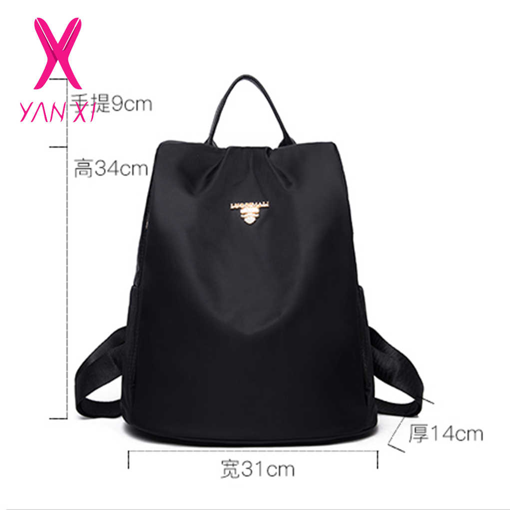 22178d4813d8 ... YANXI Brand Women s Oxford Backpack Female Casual Shoulder Bag Fashion  Waterproof Travel Bags Teenagers Girls School ...