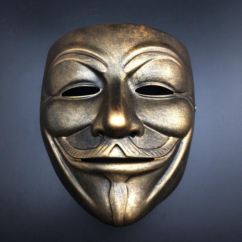 fancy halloween v mask christmas party costume vendetta anonymous movie cosplay sexy upmarket resin masks d - Purge Anarchy Masks For Halloween