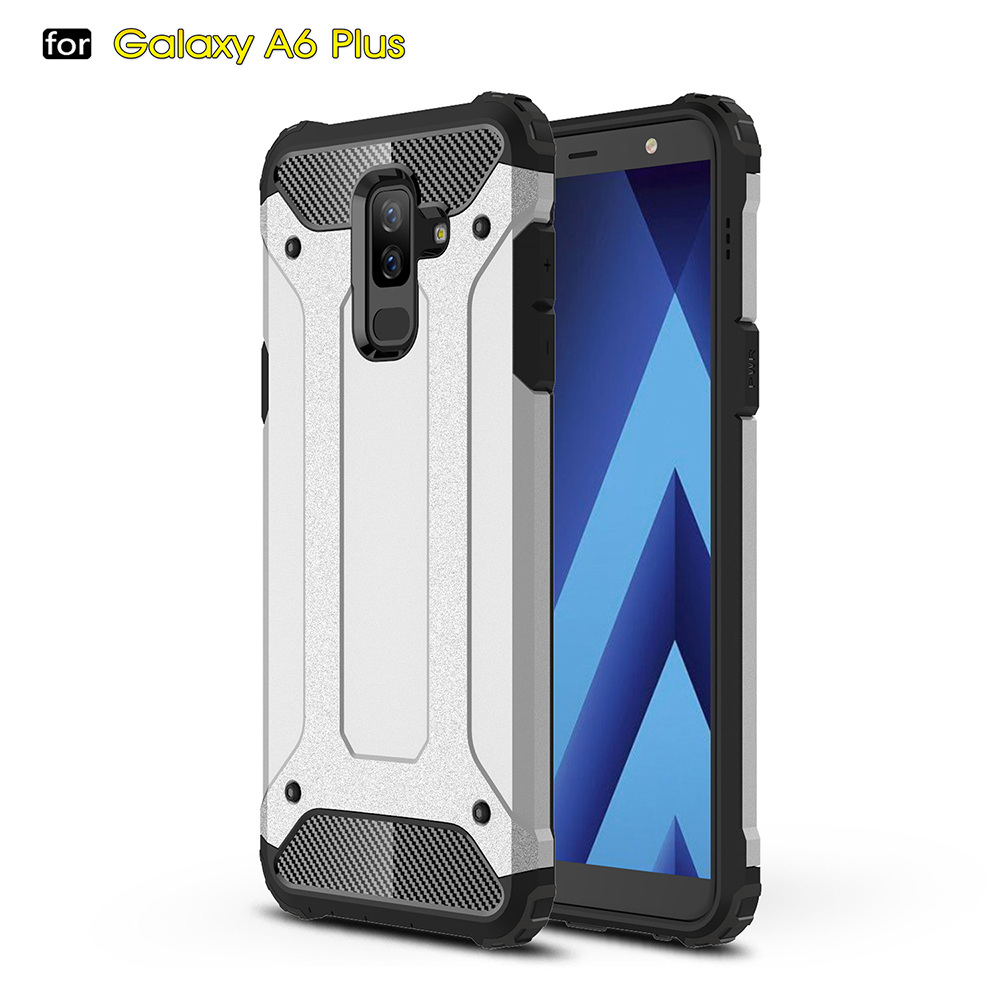 finest selection 46c8f 684eb US $3.58 20% OFF|Hard Case for Samsung Galaxy A6+ A6 Plus Anti Knock  Celular Covers Phone Bags Cases for Samsung Galaxy A6 Plus A6Plus A6+  ZGAR-in ...