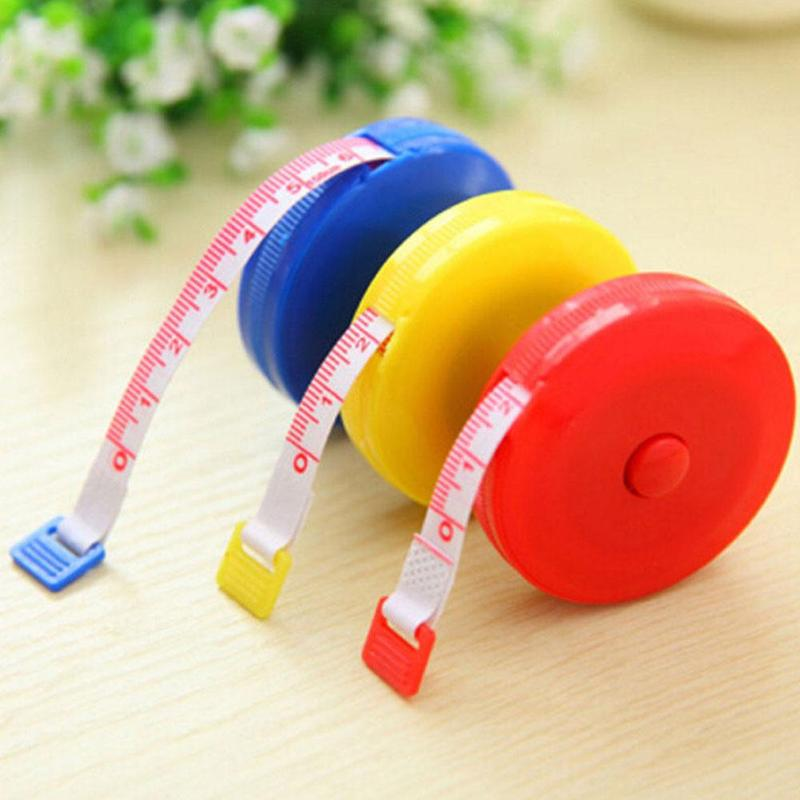 1.5M Sewing Retractable Ruler Tape Measure Tools Tailor Seamstress Flexible Sewing Cloth Messure Ruler Accessaries