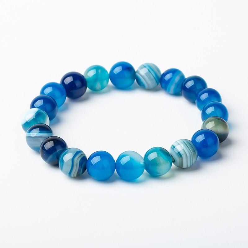 Meajoe трендовый натуральный камень любовь фиолетовый браслет из бисера Винтаж Шарм круглая цепь бисер браслеты ювелирные изделия для женщин друг подарок - Окраска металла: model 8