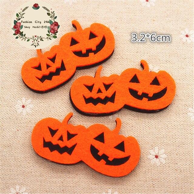 10pcs/lot Non woven Fabric Handmade Kawaii Halloween Double ...