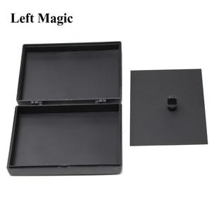Image 2 - הפתעה לשחזר קופסא קסמים שחור פלסטיק תיבת שבור נייר כרטיס מקרה תקריב קסמים אבזרי צעצועי עבור ילדים