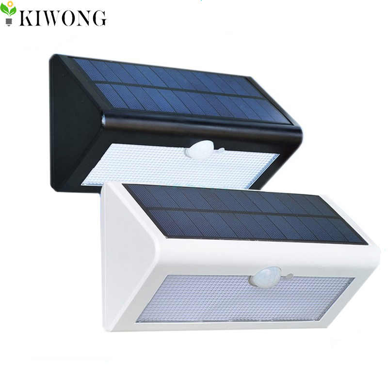 500 Lm Impermeabile Solar Powered Outdoor Rivelatore Del Sensore di Movimento Della Parete Percorso Della Luce Garage Patio Illuminazione di Sicurezza Luci Notturne Lampada