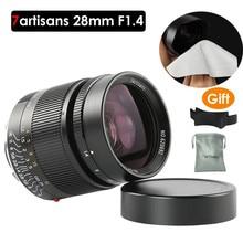 7 artisans 28mm F1.4 Large Aperture paraxial M-mount Lens for Leica Cameras M-M M240 M3 M5 M6 M7 M8 M9 M9P M10 Free Gift