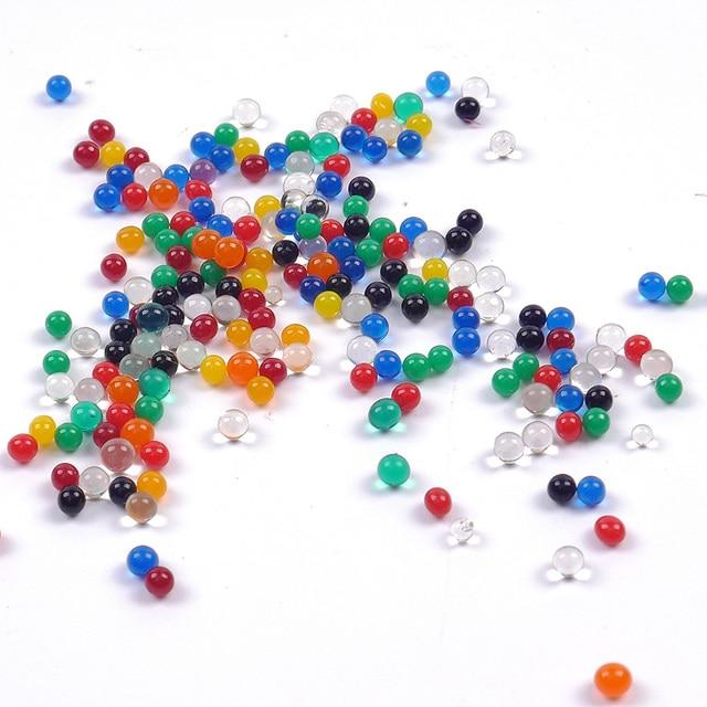 10bags/set Pearl Shaped Crystal Soil Water Beads Mud Grow Magic Jelly Balls Home Decor Aqua Soil Wholesales