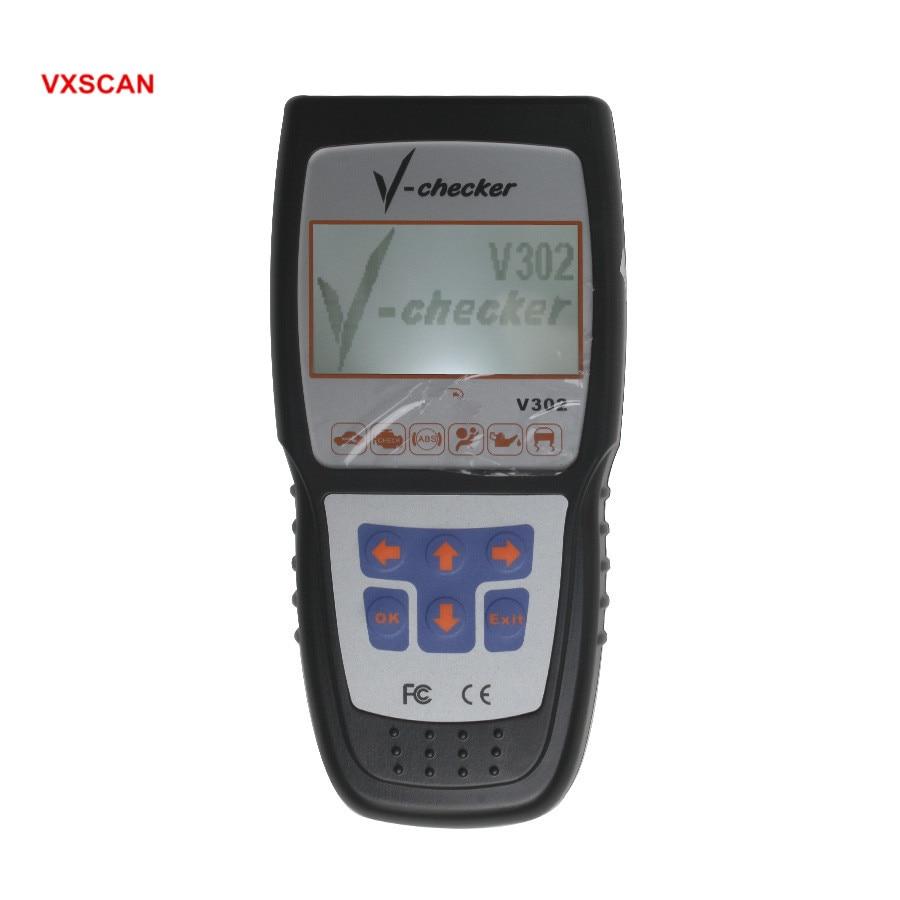 V-CHECKER professionnel V302 lecteur de Code professionnel CANBUS
