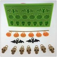 Accessoires de cuisine de cuisson fondant gâteau moule décoration taupe chocolat pour Halloween citrouille conception