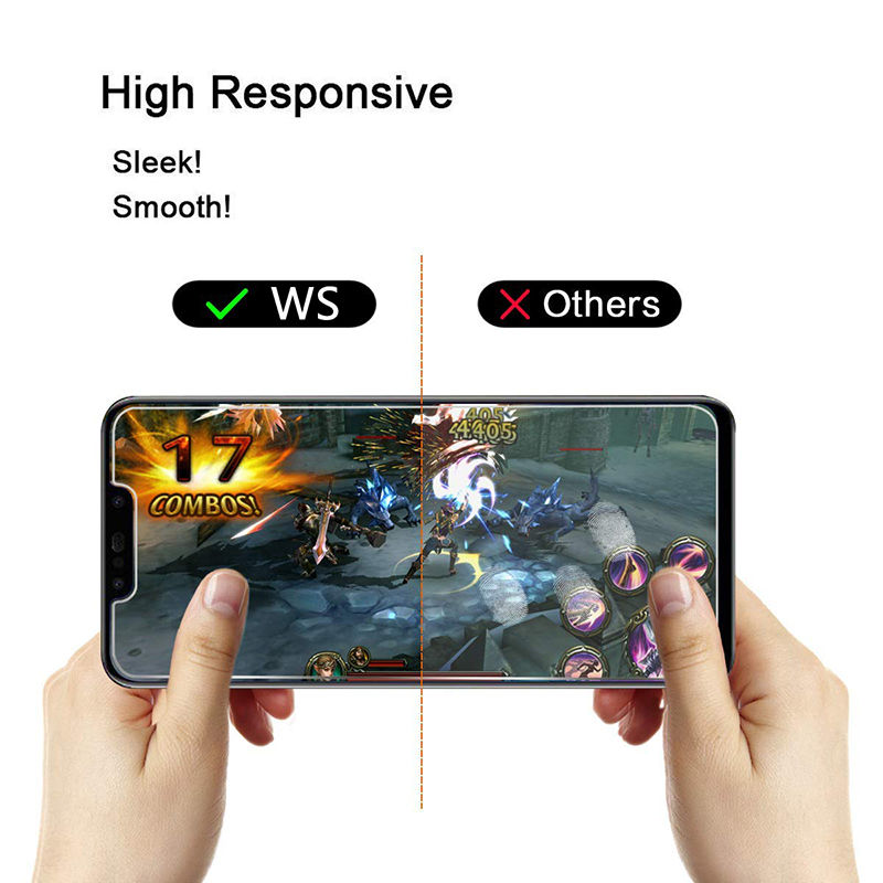 Tempered Clear Screen Protector Glass Film And Ultra-Clear HD Protect Glass with Premium 5