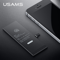 For IPhone 5S Battery USAMS Original IPhone5S IP5S Mobile Phone Lithium Battery Power Real Capacity 1560mAh