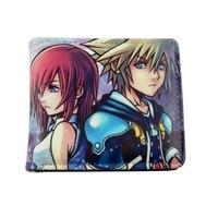 Anime Kingdom Hearts wallet leatherl PU long Purse phone zero Coin Bag
