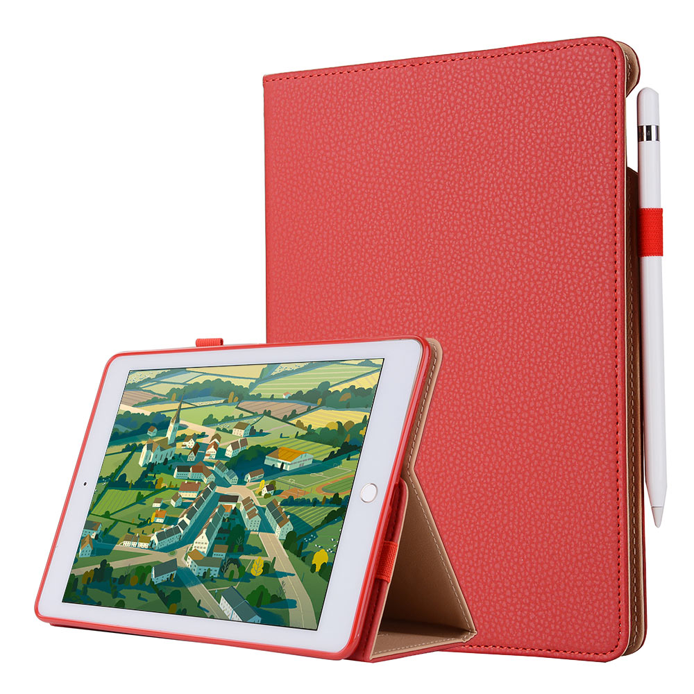 For iPad mini 4 Snow Business Smart Tablet Case Cover High Quality PU Leather Folding Stand+Hand Strap+Card Slot+Pencil Holder