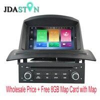 JDASTON 4G+32G Octa Cores Android 8.0 Car DVD Player For RENAULT Megane Fluence 2002 2008 WIFI Multimedia GPS Navigation Radio