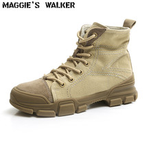 Maggies Walker Womens Fashion Canvas Casual Shoes High-top Lacing Martin Boots Size 35~39