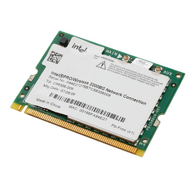 INTEL PRO WIRELESS 2200BG 54MBPS MINI PCI WINDOWS 7 64BIT DRIVER