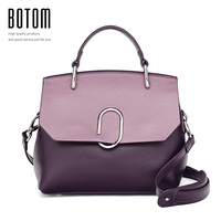 Botom Latest Women S Handbags Fashion Genuine Leather Shoulder Bag Real Leather Luxury Designer Ladies Cross