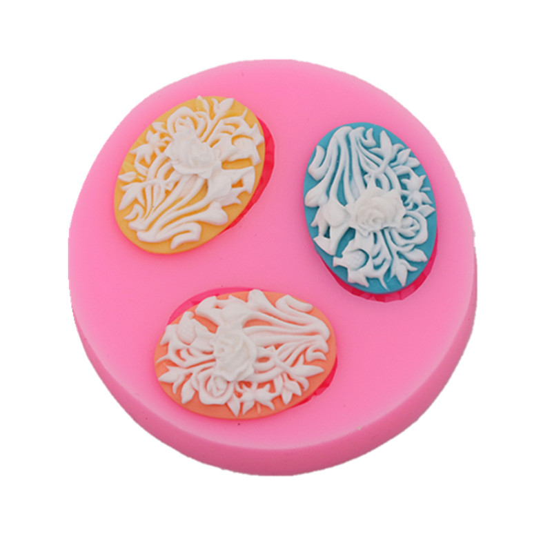 1 piece Rose//Flower Silicone Mold For Fudge Cake Decorating Chocolate Cookies Soap Fimo Polymer Clay Resins Kitchen Baking Tools