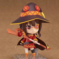 Megumin God's Blessing on this Wonderful world Anime action model figure 725 Nendoroid cartoon 10cm kids toy PVC gift