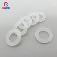 White O-ring Seals Gasket Silicon 5.7mm Thickness O Rings Rubber Sealing Washer 135/140/145/150/155/160/165/170/175mm OD Grommet