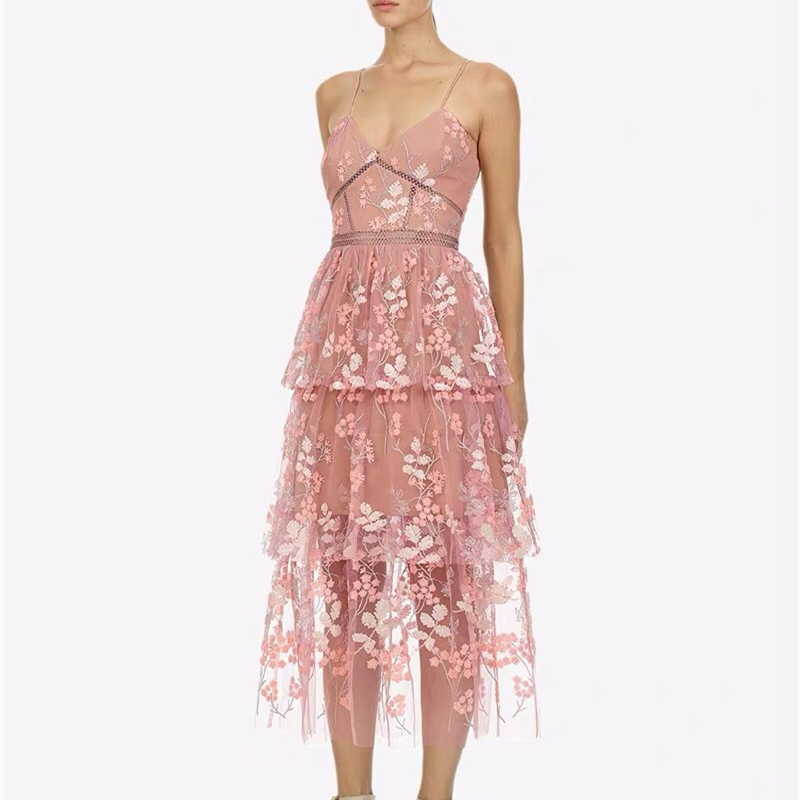Sexy Spaghetti Straps Pink Embroidery Cocktail Dresses Robe Flowers Elegant Party 2019 Short Vestidos Homecoming Dress
