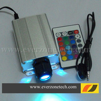 High Quality 5w With IR LED Fiber Optic Light Engine Driver With RGB Colors Fiber Optic