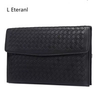2017 Hot Sale Special Offer Interior Compartment Genuine Leather Day Clutches Unisex Shell Solid Soft Cell