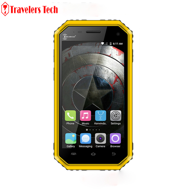 Original PROOFINGS kenxinda W6 4G LTE IP68 Waterproof Rugged Smartphone 1GB RAM 8GB ROM 2600mAh 4.5 Inch Dual SIM Card W5 W9