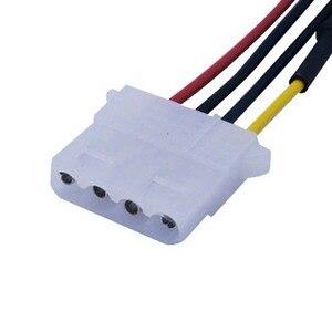 Image 4 - ใหม่4 Pin Molexคอมพิวเตอร์PCพัดลมความเร็วลดเสียงรบกวนต่ำสายไฟอะแดปเตอร์อะแดปเตอร์