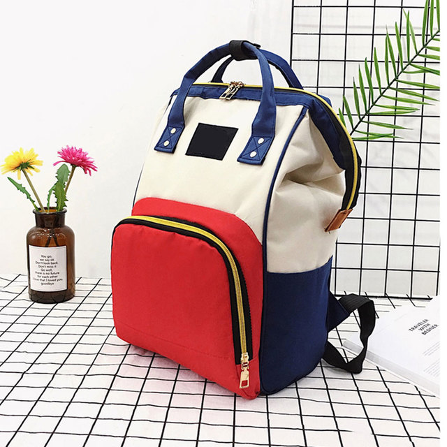 High Capacity Waterproof Diaper Bag