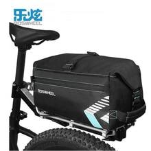 ROSWHEEL 6L Waterproof Bike Bag Bicycle Accessories Saddle Bag Cycling Mountain Bike Back Seat Rear Bags Single Shoulder Bag