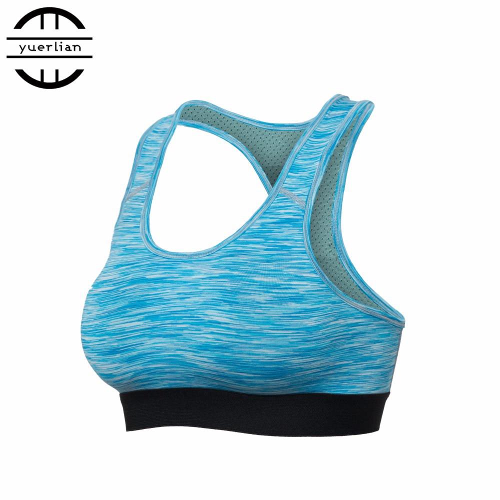 Oddychający sportowy biustonosz kobiet Push Up Fitness Seksowny - Ubrania sportowe i akcesoria - Zdjęcie 4