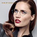 HEPIDEM New Rim series Oliver  glasses frame Retro hand-made eyeglasses frame Titanium Men peoples myopia glasses Oculos de grau
