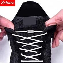 1Pair 25 Colors No Tie Shoe laces Elastic Locking Round ShoeLaces Kids Adult Sneakers Shoelaces Lazy Quick Lace Shoestrings