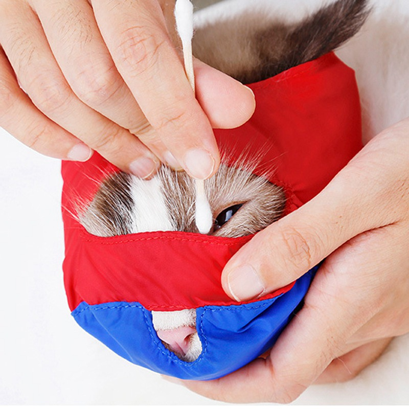 New Cat Anti Bite Mask Puppy Bath Beauty Grooming Supplies C