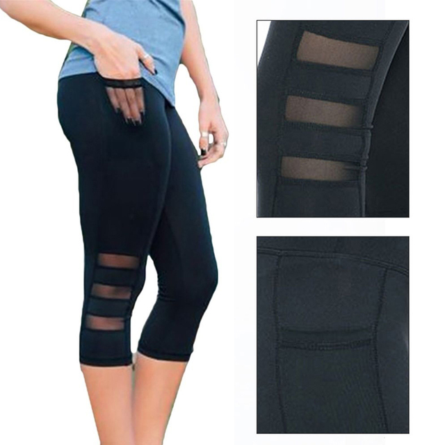 Mesh Legging With Pocket 8