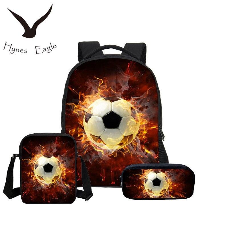 Hynes Eagle Fashion Fire Skull Combination Packages 3D Print Chirldren Backpacks Canvas Crossbody Backpacks Mochila Shoulder BagHynes Eagle Fashion Fire Skull Combination Packages 3D Print Chirldren Backpacks Canvas Crossbody Backpacks Mochila Shoulder Bag