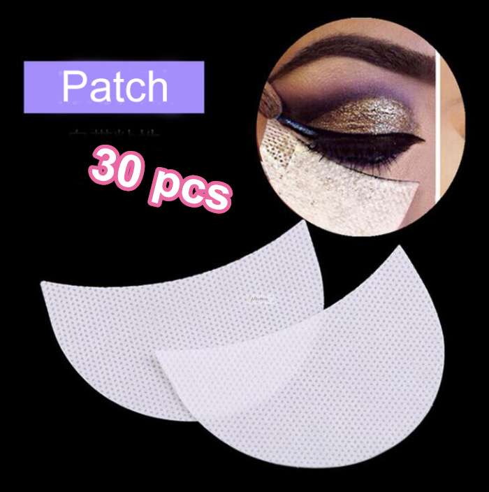 30pcs Make Up Paper Patches Under Eye Pads Eyelashes Extension Sticker Eye Lash Tips Eye Shadow Wraps Tools Accessory