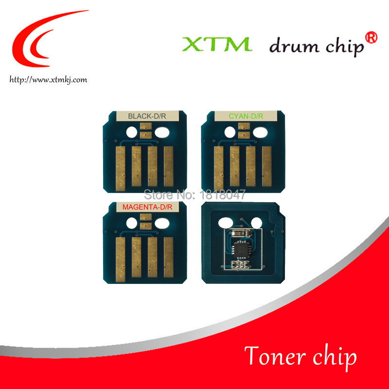 Compatible 006R01453 006R01456 006R01455 006R01454 toner chip for Xerox WorkCentre 7120 7125 metered reset cartridge chips