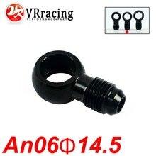 Adaptor Banjo Vr-Aluminum Black An-6-6 VR-SL776-06-14 Bolt