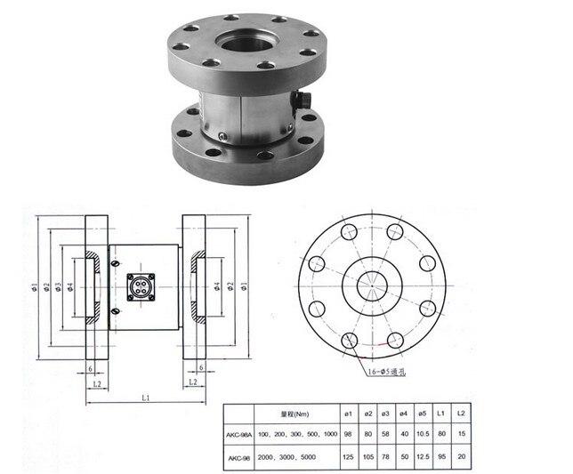 AKC-98 Static Torque Sensor